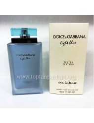 Dolce & Gabbana Light Blue Eau Intense Edp  BAYAN 100ml (tester) 12 DOLAR