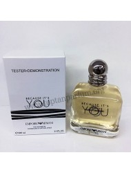 Emporio Armani Because It's You EDP 100 ml Kadın Parfüm orgınal tester 12 dolar