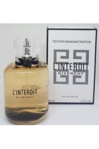 Givenchy L'interdit 80ml edp bayan TESTER PARFUM